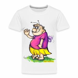 Die winkende Pummelfee - Kinder Premium T-Shirt