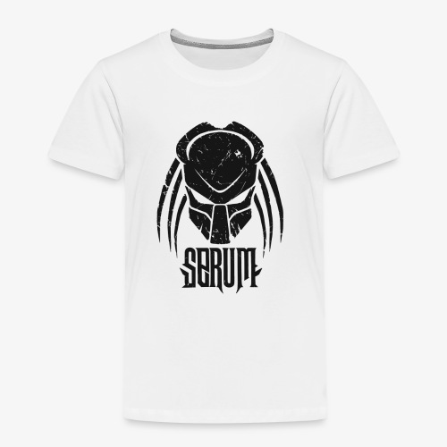 Serum Logo /Lettring Black - T-shirt Premium Enfant