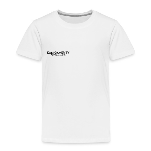 Kam Gamer Tv Always Amazing - Collection - Kids' Premium T-Shirt
