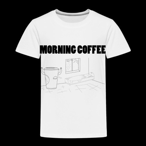 Morning Coffee - Kids' Premium T-Shirt
