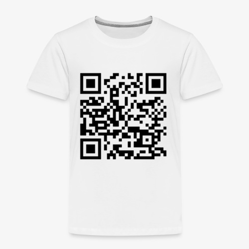 Channel Link QR Code - Kids' Premium T-Shirt