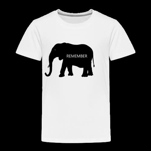 Elephant Collection - Premium T-skjorte for barn