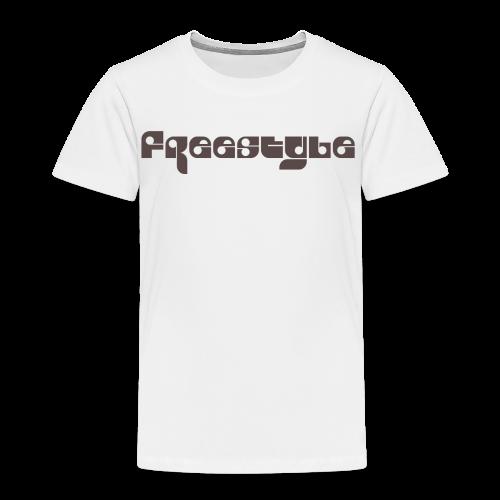 Freestyle Collection - Premium T-skjorte for barn