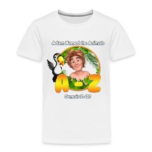 Adam Named the Animals Logo - Kids' Premium T-Shirt