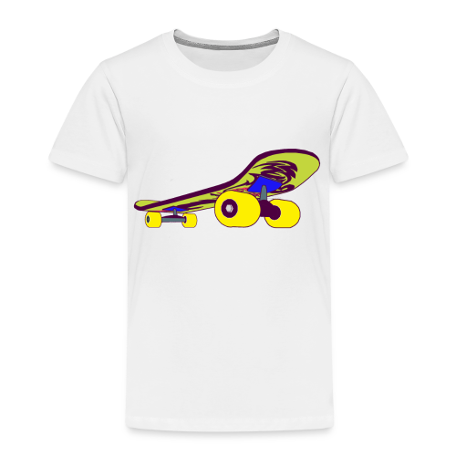 Skateboard Collection - Premium T-skjorte for barn