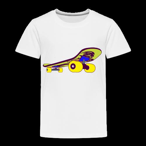 Skateboard Collection - Premium T-skjorte for barn