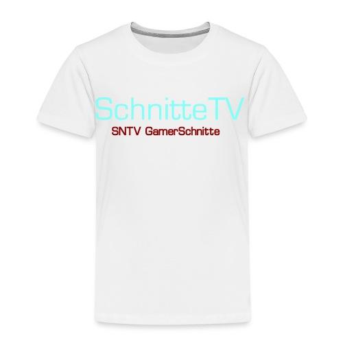 SchnitteTV SNTV GamerSchnitte - Kinder Premium T-Shirt