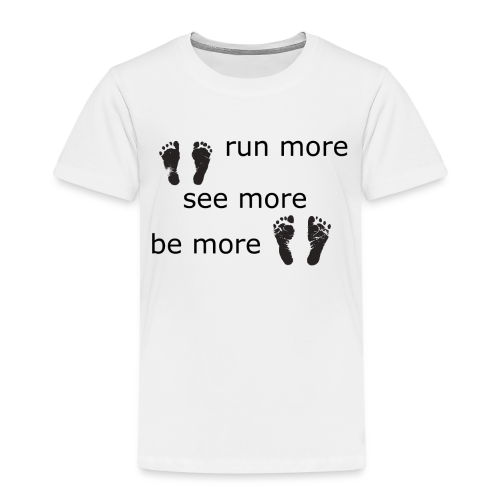 Run Collection - Premium T-skjorte for barn