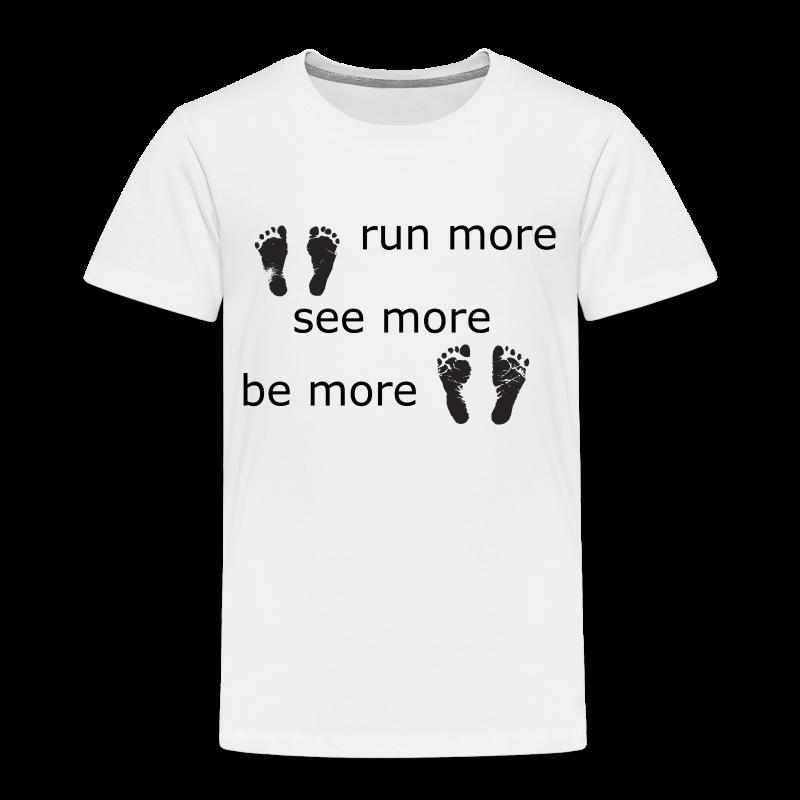 Run Collection - Premium T-skjorte for barn