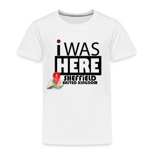 I Was Here Sheffield United Kingdom - Kids' Premium T-Shirt