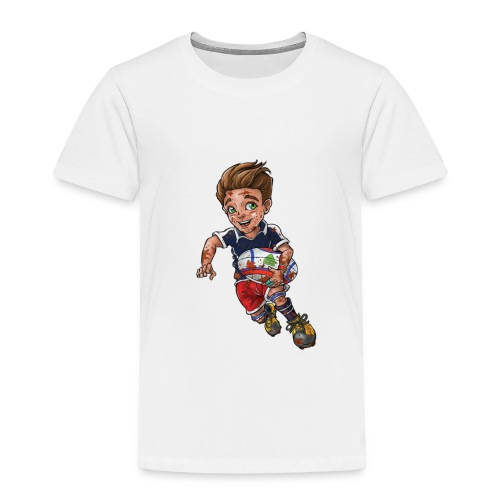 Little rugby player - Kids' Premium T-Shirt