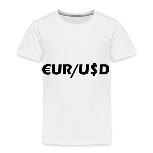 EUR/USD - Kinder Premium T-Shirt
