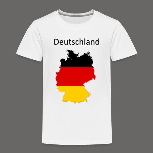 Deutschland Karte - Kinder Premium T-Shirt