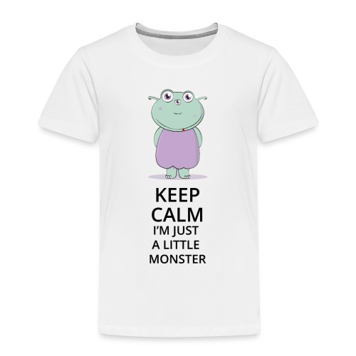 Keep Calm - Little Monster - Petit Monstre - T-shirt Premium Enfant