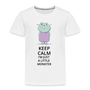 Keep Calm - Little Monster - Petit Monstre - T-shirt Premium Enfant