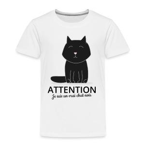 Chat noir - T-shirt Premium Enfant