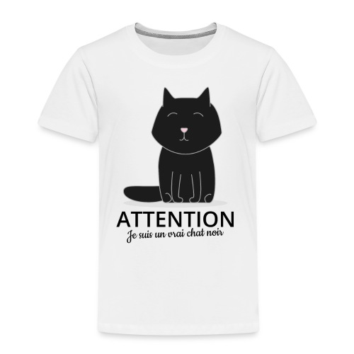 Chat noir - T-shirt Premium Enfant