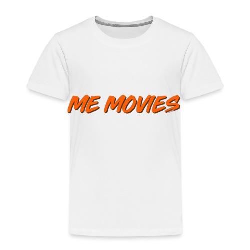 ME MOVIES ORANGE - Premium-T-shirt barn
