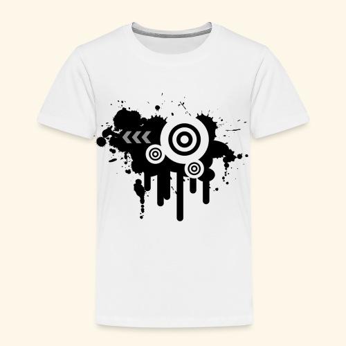 Black Grunge Vector - Kids' Premium T-Shirt