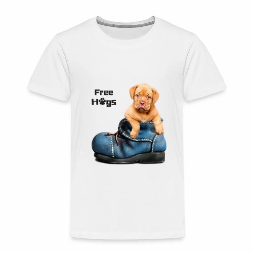 free hugs dog t-shirt - T-shirt Premium Enfant
