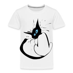 Le chat dérangé ! - T-shirt Premium Enfant