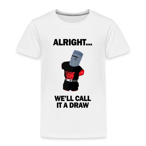 The Black Knight - Kids' Premium T-Shirt