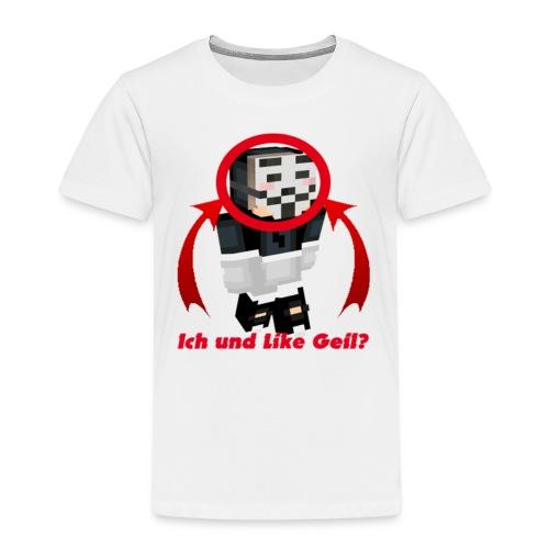 Ich und LikeGeil? - Kinder Premium T-Shirt