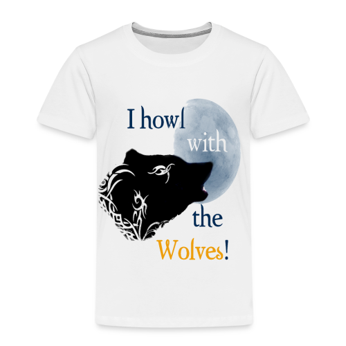 Wolf howl - Kinder Premium T-Shirt