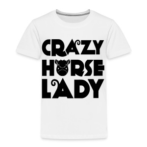 Crazy Horse Lady - Kids' Premium T-Shirt