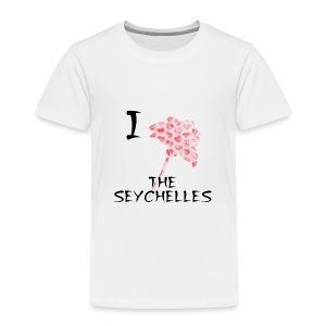 I Love The Seychelles - Kids' Premium T-Shirt