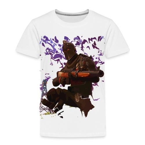 Black Knight - Faded - Kids' Premium T-Shirt