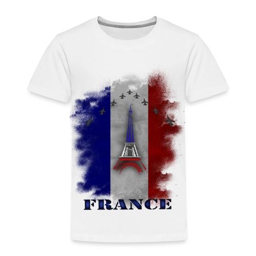Fandesign Frankreich - Kinder Premium T-Shirt