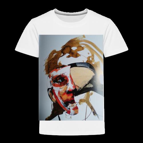 Acryl-Mischtechnik - Kinder Premium T-Shirt