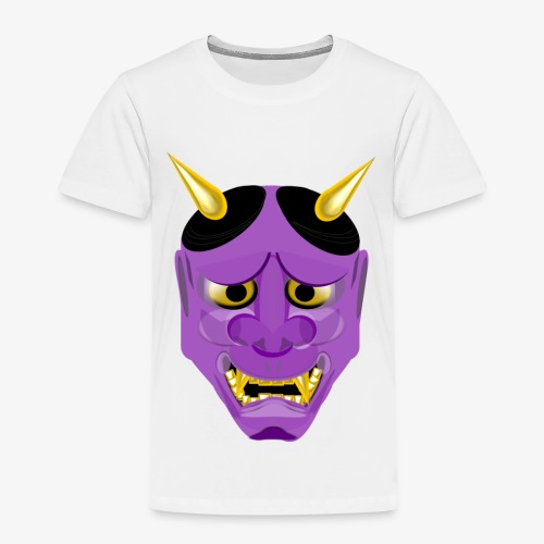 Demon Mask Purple - Kids' Premium T-Shirt