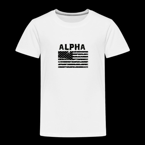 ALPHA - Kinder Premium T-Shirt