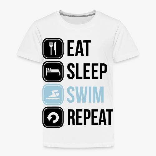 Eat Sleep Swim Repeat - Kids' Premium T-Shirt
