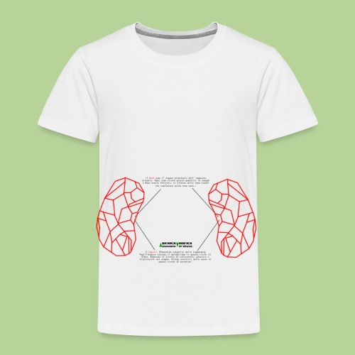 ReniRed - Maglietta Premium per bambini