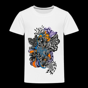 abstract line - Kids' Premium T-Shirt