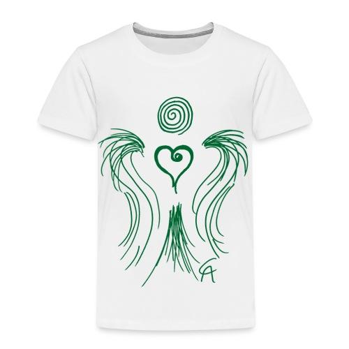 Herzengel grün - Kinder Premium T-Shirt
