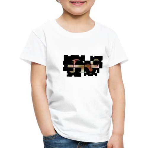 Puzzle Abstrait - T-shirt Premium Enfant