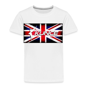 Kunce UK Union Jack Grunge - Kids' Premium T-Shirt