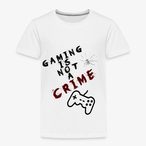 Gaming is not crime - Camiseta premium niño