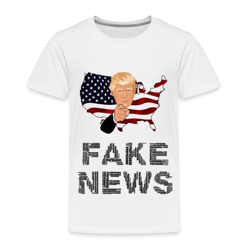 Trump Fake news - Kinder Premium T-Shirt