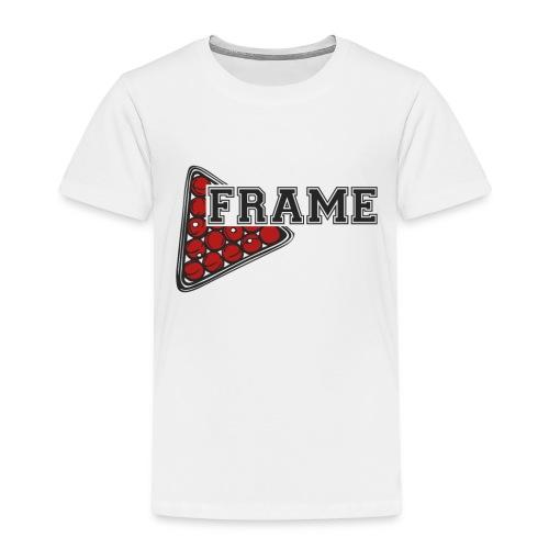 Snooker Frame - Kinder Premium T-Shirt