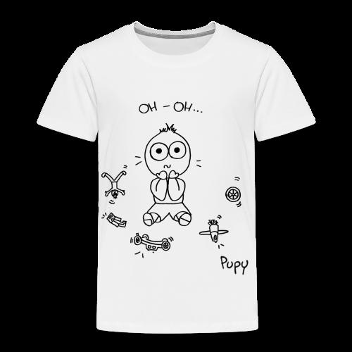 Pupy: oh-oh... - boy - Maglietta Premium per bambini