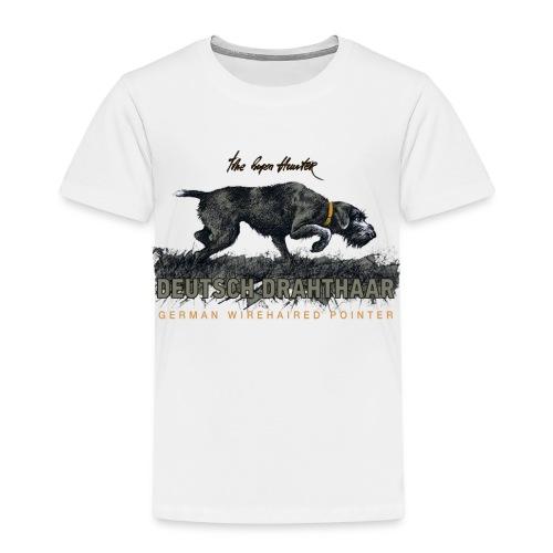 Deutsch Drahthaar Der Geborene Jäger - Kinder Premium T-Shirt