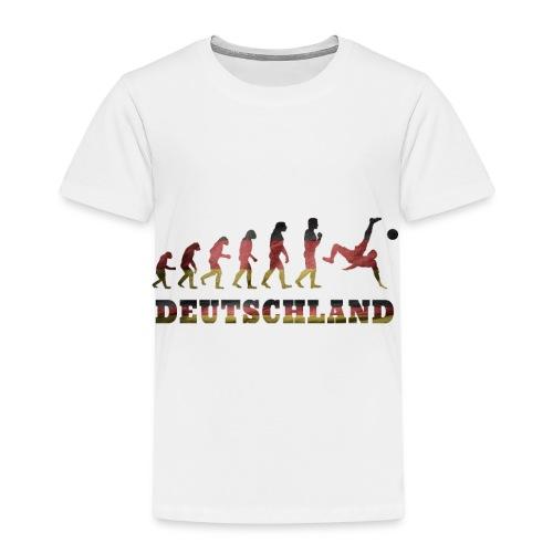 Evolution Fussball Deutschland - Kinder Premium T-Shirt