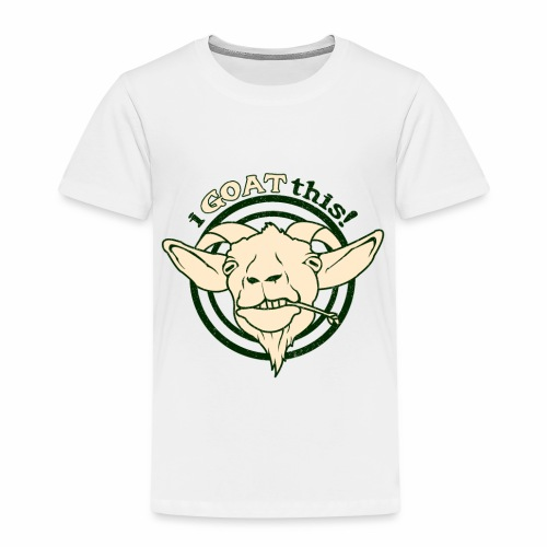 Funny Play on Words Goat Animal - Kids' Premium T-Shirt