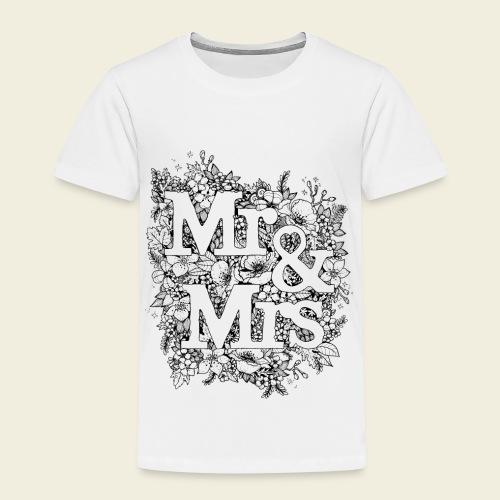 Mr and Mrs - Kinder Premium T-Shirt