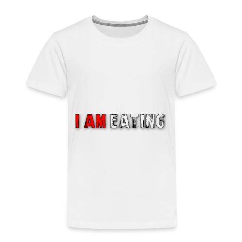 I am eating. - Kinderen Premium T-shirt